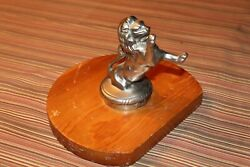 Old Antique Franklin Car Vintage Collectable Hood Ornament 1926 To 1929