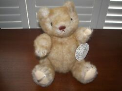 1984 Gorham Bear-of-the-month 12.5 Jointed Plush Bear