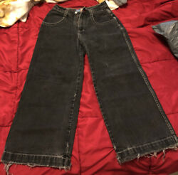 JNCO Jeans 22inch Jackhammer Black 1998 Preowned Youth Size 16