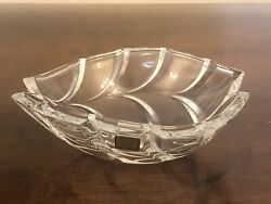 Waterford Marquis Crystal Palma Sculpted 7 Oval Bowl