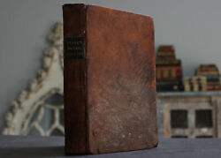 Rare Antique Old Book Gravity Motion Color Reflections + 1835 Illustrated
