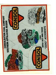 Rare 12 Piece Puzzle Southern App. Consol Coal Co. Coal Mining Stickers 400