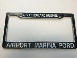 Ford Airport Marina Southern Ca Dealership License Plate Frame. Plastic. New.
