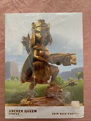 Limited Edition Clash Of Clans Supercell Archer Queen Statue 2019 Gold Variant