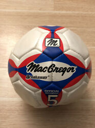 Mac Gregor Breakaway Official Size 5 Soccer Ball End Child Labor Signed