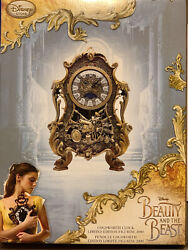 Live Action Beauty And The Beast Cogswoth Clock. Limited Edition
