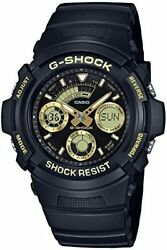 Casio G-shock Black And Gold Aw-591gbx-1a9jf Mens Black