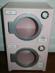 Pottery Barn Kids Washer And Dryer Kitchen Pink Retro Rare Htf Free Shipping