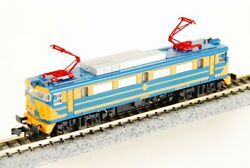 Kato N-scale 137-1307 Renfe 269-222-6 Azul/amarillo Made In Japan Very Rare