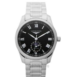 Longines The Longines Master Collection L29094516 Black Dial Menand039s Watch
