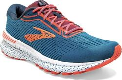 Brooks Adrenaline Gts 20 Blue/majolica/coral Running Shoes Womens Size 11.5 B