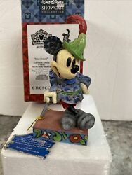 Disney Jim Shore Mickey Mouse Tailor Sew Brave 4016553 New In Box Retired