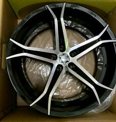 4 Forte F70 5x120 20x8.5 74.1cb Set New Wheels Closeout Special