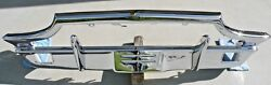 X Thunderbird Front New Triple Chrome Plated Bumper 64-65 1964-1965 Ford Oem