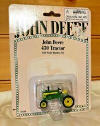 Vintage 1996 John Deere 430 Tractor 1/64 Scale Replica Toy 5620/new And Sealed