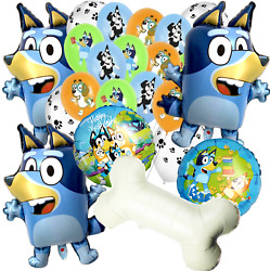 BLUEY AND BINGO PAW DOG Party Supplies BALLOON favor SUPPLIES DECORATIONS THEME $11.99