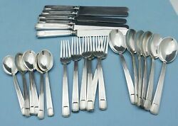 Century Sterling Flatware Set 24 Pieces Luncheon Size For 6