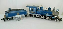 Bachmann G Custom 4-6-0 Steam Loco 833 And Nj Central Tender Anniversary Chassis
