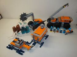 Lego - City - 60195 - Artic Mobile Exploration Base - With Instructions - As Is