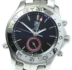 Tag Heuer Link Wjf2115 Date Black Dial Automatic Men's Watch_614208