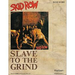 Skid Row Slave To The Grind Sheet Music Tablature Score 1981