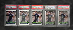 2012 Topps 165 Russell Wilson Rc Passing-stnd Visible Psa 10 Bulk Buys Lot Of 5