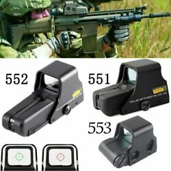 Red Green Dot Holographic Sight Scope 551/552/553/558 Replica Tactical Scope