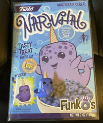 Narwhal Funko Pop Cereal Elf Funko's Box + Pocket Pop + Protector Box Lunch Excl