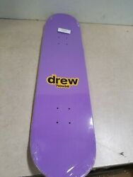 Drew House X The House Of Drew Mascot Skate Deck - Birds Of Paradise And Purple