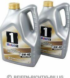 Mobil 1 Fs 0w-40 Fully Synthetic Engine Oil 0w40 Mobil1 2 X 5 Litre 10l