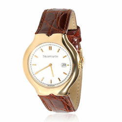 And Co. Tesoro M0130 Unisex Watch In 18kt Yellow Gold