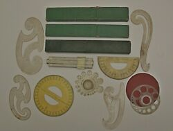Slide Rules And Various Technical Drawing Instruments