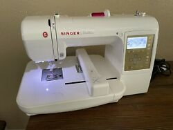 Singer Studio S10 Home Or Business Industrial Grade Embroidery Machine Works