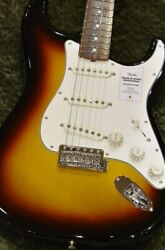 Fender Made In Japan Traditional Ii Late 60s Stratocaster Rosewood -3ts-