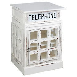 Sunset Trading Cottage English Phone Booth End Table Cc-cab064sold-ww
