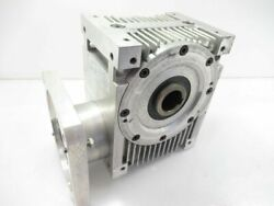 459018 Gudel Fh090 Worm Gear Right Angle Gearbox Ratio 8.601 Used Tested