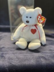 Ty Beanie Baby Valentino Tag Errors- 1993 Brown Nose Pvc Pellets Mint Rare