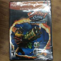 Ps2 Ratchet&clank Going Commando New Sealed Usa Version