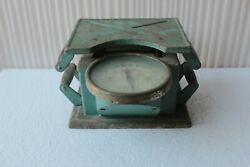 Vintage German Weight Scale Antique Iron Collectible Old Housewares Scale Bq-85