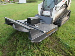 Wolverine 72 Brush Hog Mower Attachment Skid Steer Tractor - Local Pickup Only