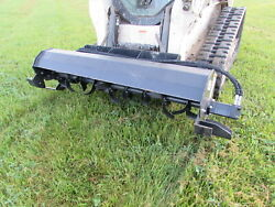 Wolverine 72 Roto Tiller Attachment Skid Steer Tractor - Local Pickup Only