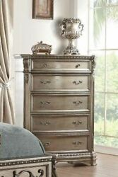 Acme Northville Chest In Antique Champagne Finish 26939