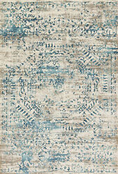 Loloi Transitional Ivory Blue 12and039-0 X 15and039-0 Area Rugs Kgstkt-05ivbbc0f0