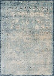 Loloi Transitional Light Blue 2and039-7 X 10and039-0 Runner Rugs Anasaf-14lbiv27a0