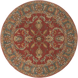 Surya Cae-1007 Caesar Classic Traditional Oval Brick 8and039 X 10and039 Oval Area Rug