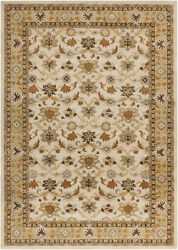 Surya Cae-1010 Caesar Classic Traditional Oval Ivory 8and039 X 10and039 Oval Area Rug