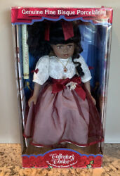 Collectors Choice Genuine Porcelain Doll Limited Edition By Donatella De Roma