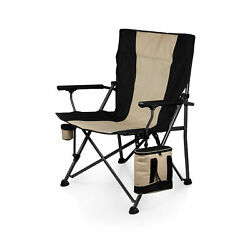 Picnic Time Family Of Brands Folding Camp Chair With Cooler 808-00-175-000-0