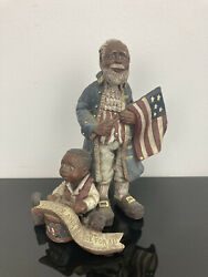 Sarahs Attic Limited Edition Figurine Liberty And Justice For All July 1990