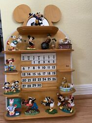 Danbury Mint Disney Classic Characters Perpetual Calendar Mickey Mouse And Friends